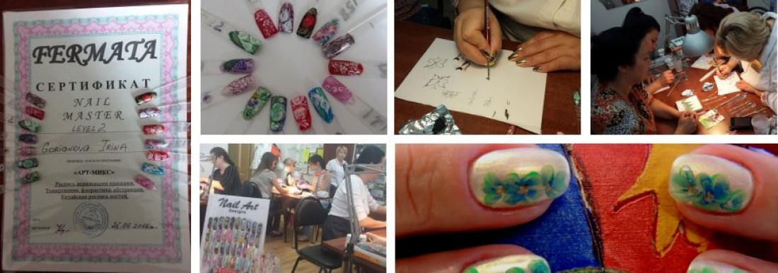 27062014 Free Hand Nail Art With Bio Sculpture Gel The