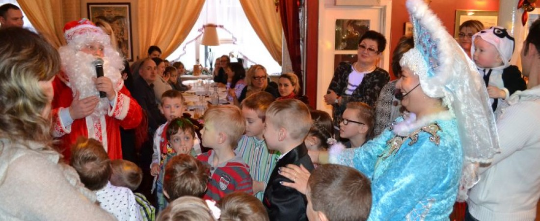 29/12/2013 – Russian Children New Year party!