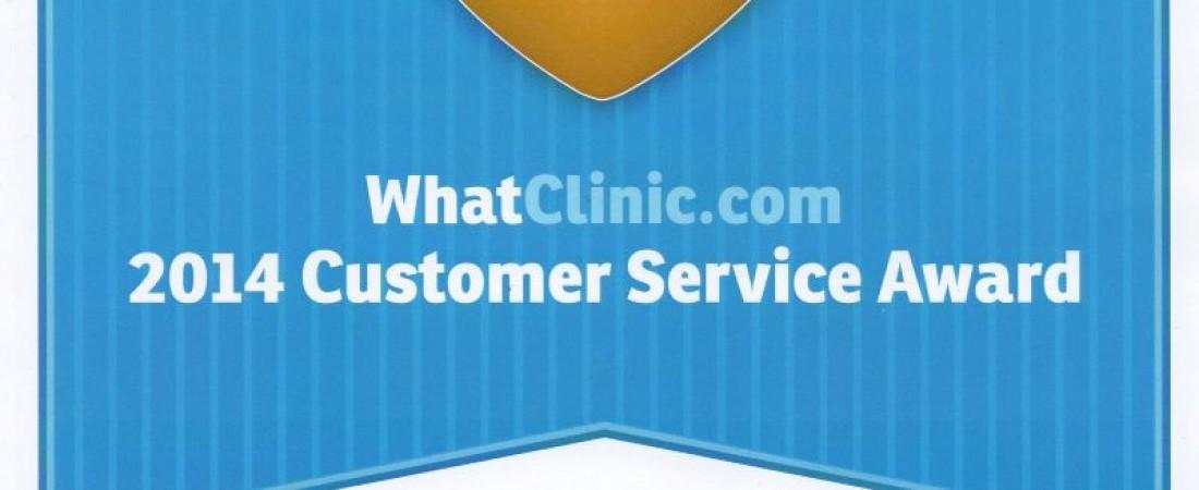 14/03/2014 – Customer Service AWARD!