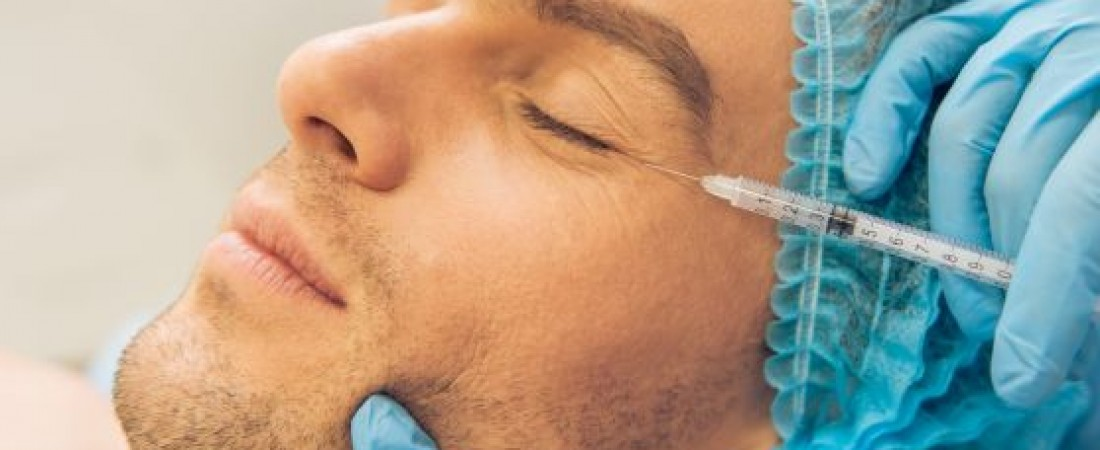 Aesthetic treatments for men.